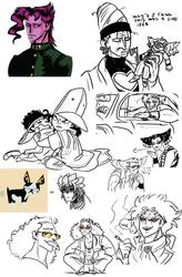 jojo's bizarre doodle dump 3