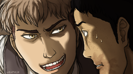 dial it back a notch Jean // Attack on Titan