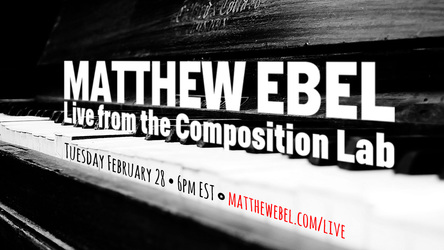 Live from the Composition Lab - February 28, 2017