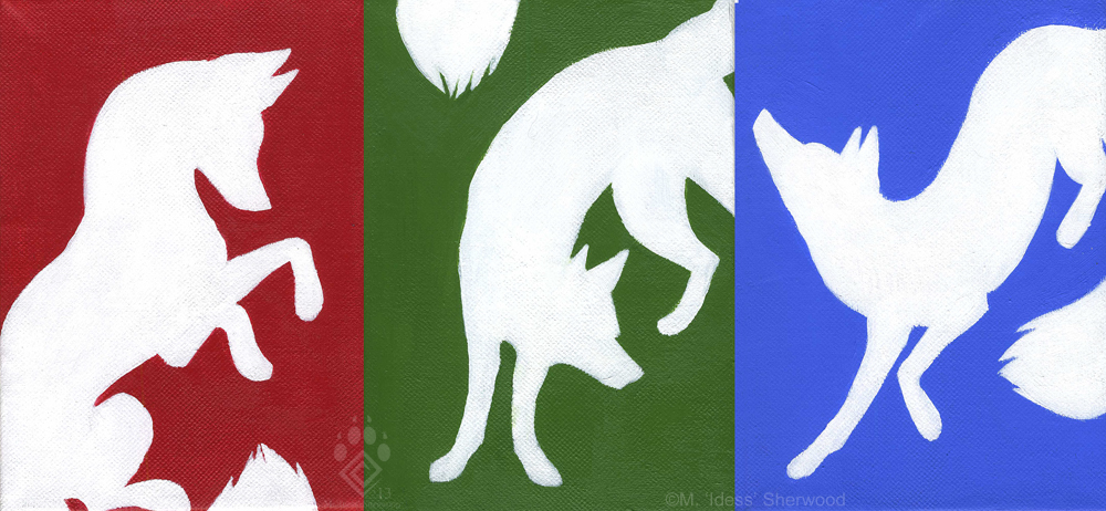 RGB Foxes