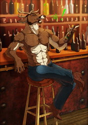 Commission: Bubba gettin drunk