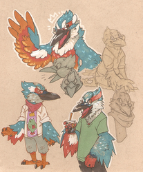 KINGFISHER sketchpage