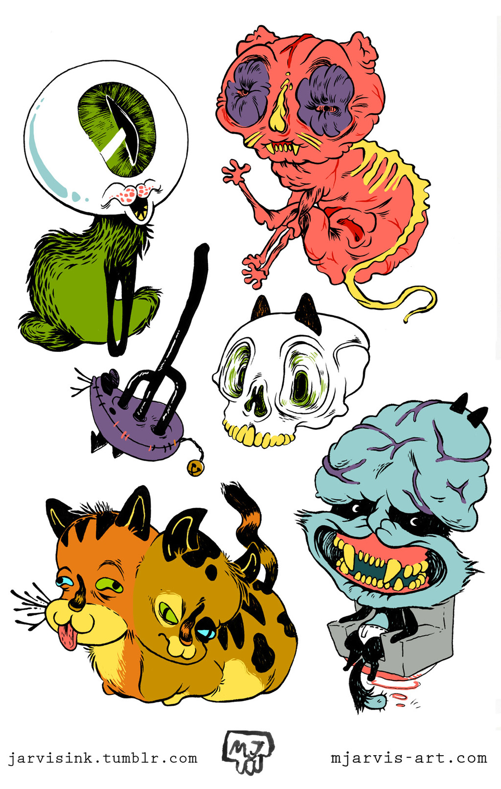 Creepy Cats