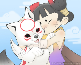 Kuni and his Mutt