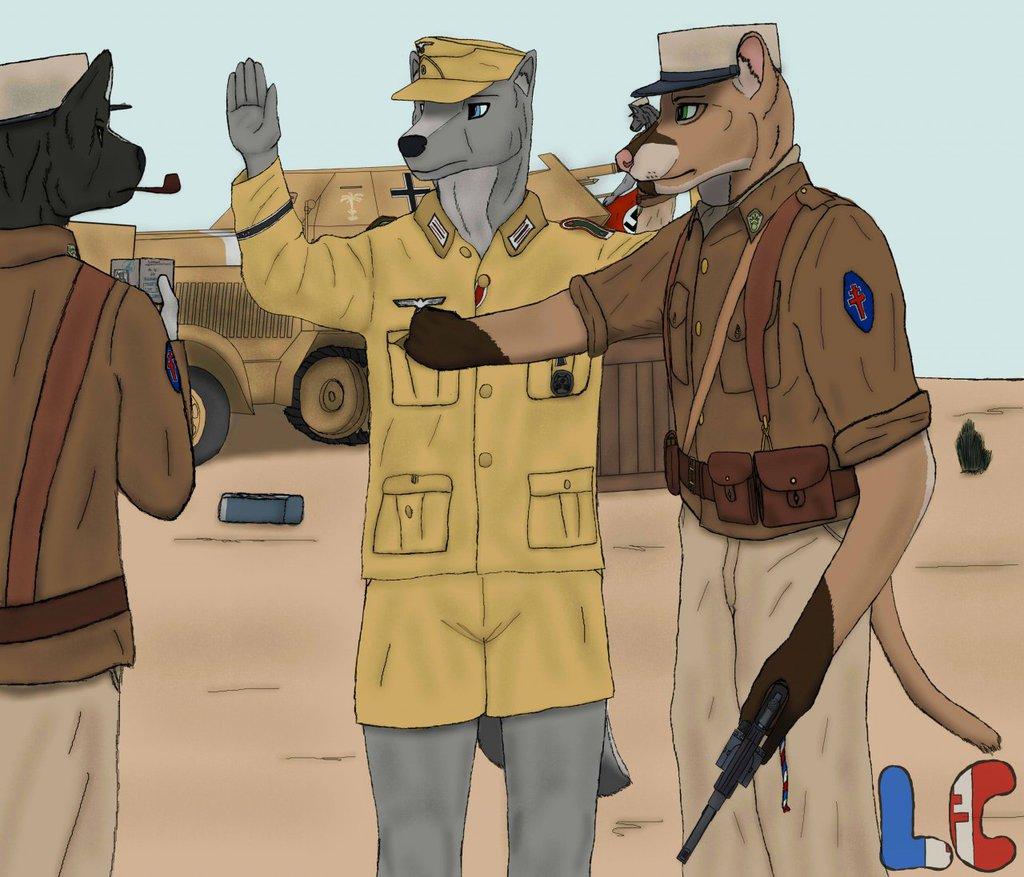 French Foreign Legion, Libya, WW2