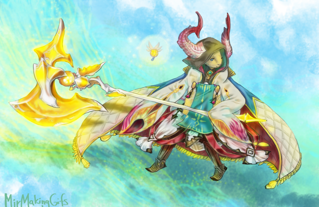 Mir's Battle Robe
