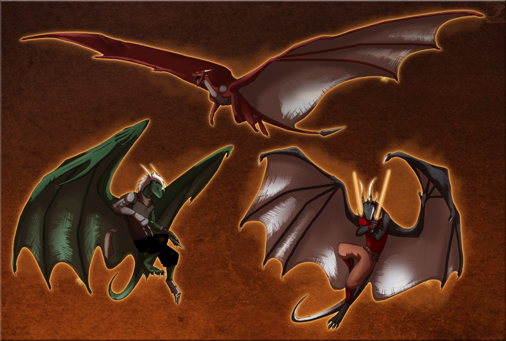 Draconic Evolution by TwilightSaint (with story)