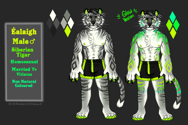 The Green Fire Tiger [Ref]