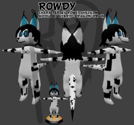 Rowdy - Low-Poly Model