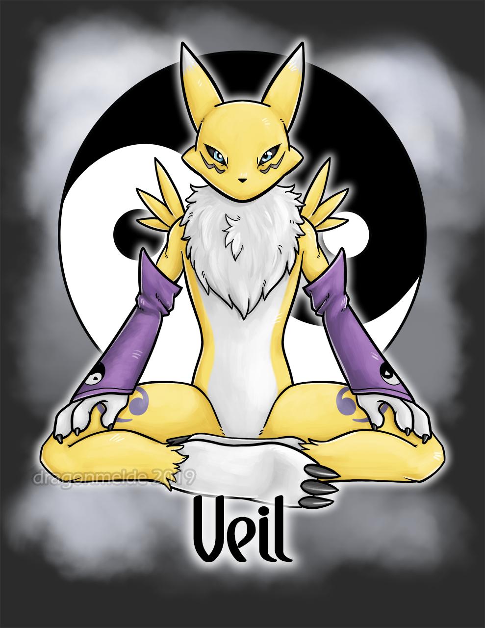 Veil Renamon Badge