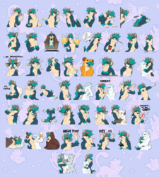 commission - mabel sticker pack