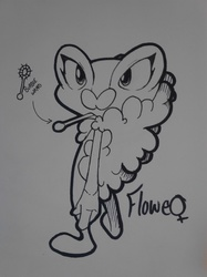 Flowe the Froakie
