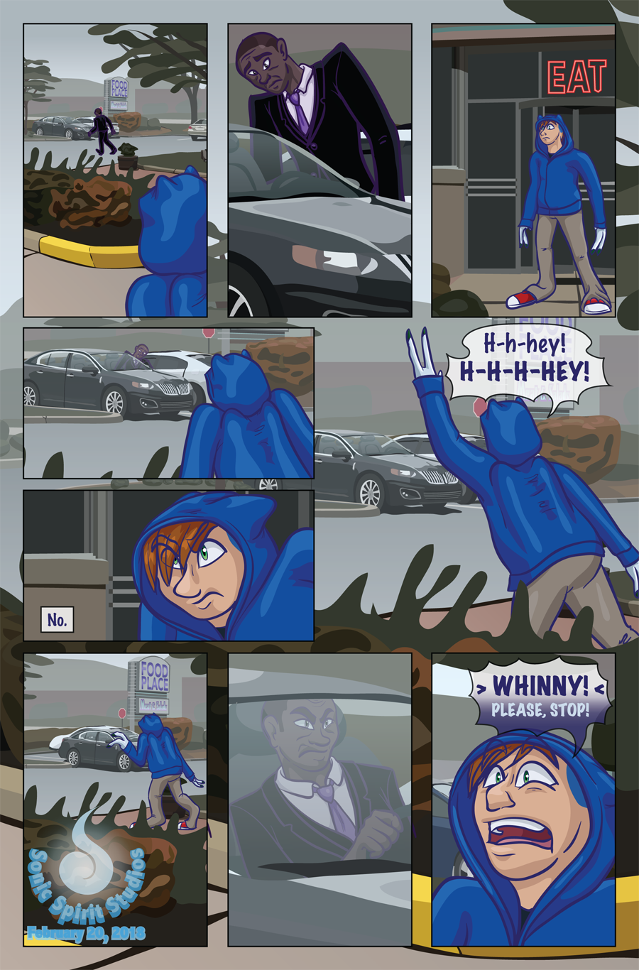 Most recent image: The New Normal - Prologue Page 3