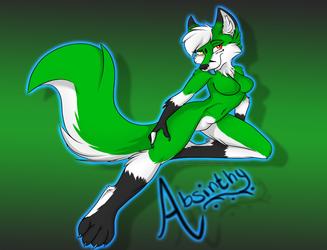 Absinthy pin up~