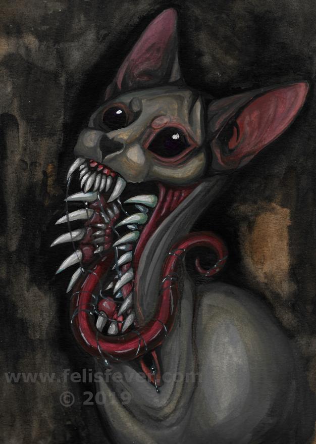 Most recent image: Nightmare Sphynx