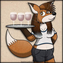 Charla the Waitress