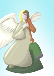 12 days of inanimate - Angel Ornament