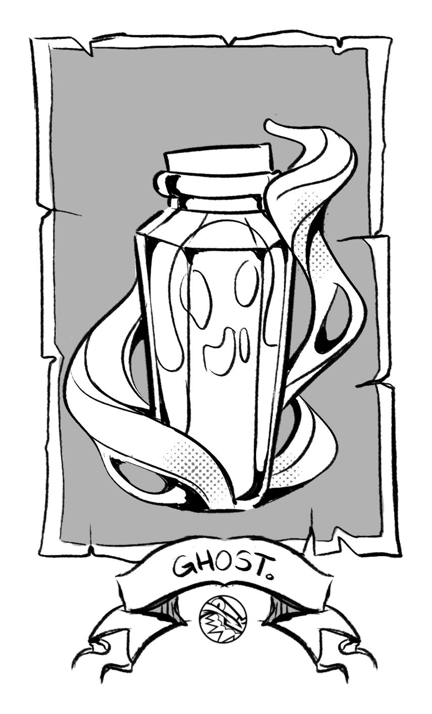 HALLOWEEN | Ghost Vial | FEARDAKEZ
