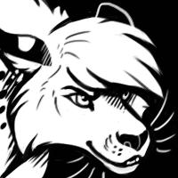 Malaika B&W Icon - Thornwolf