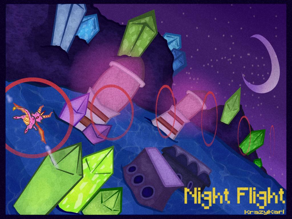 (Spyro the Dragon) Night Flight