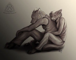 Always There.. (Sepia)