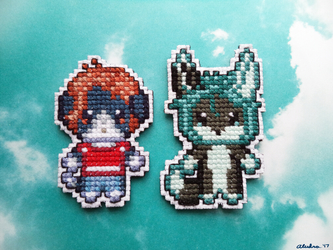 [g] Cross Stitch Sprites