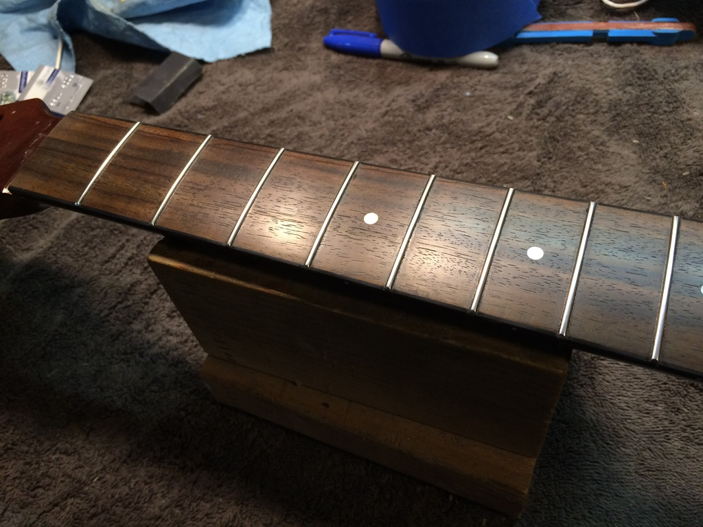 Most recent image: Stainless Steel Frets