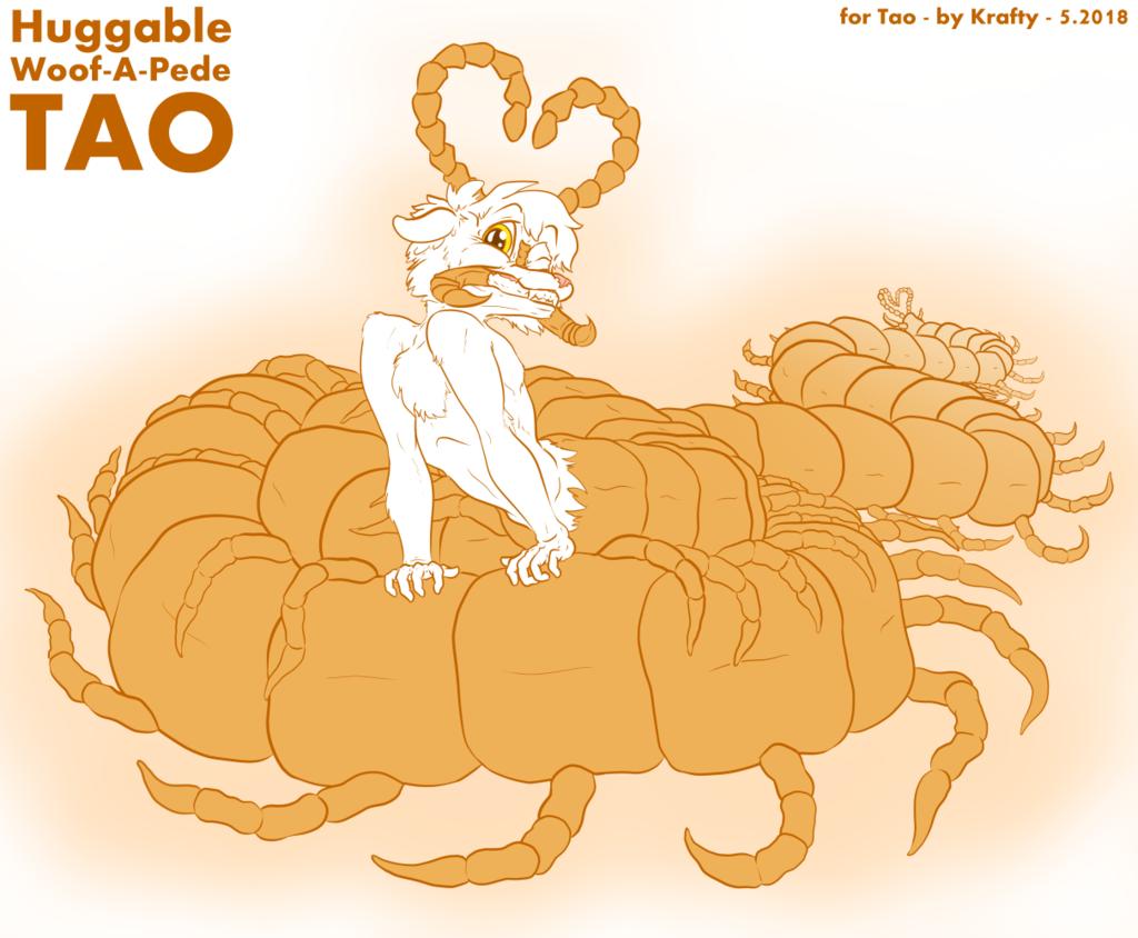 Most recent image: Huggable Woof-A-Pede Tao