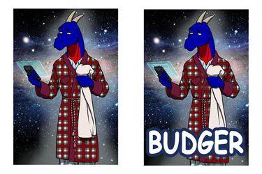 ConFuzzled 2014 Budger Badge