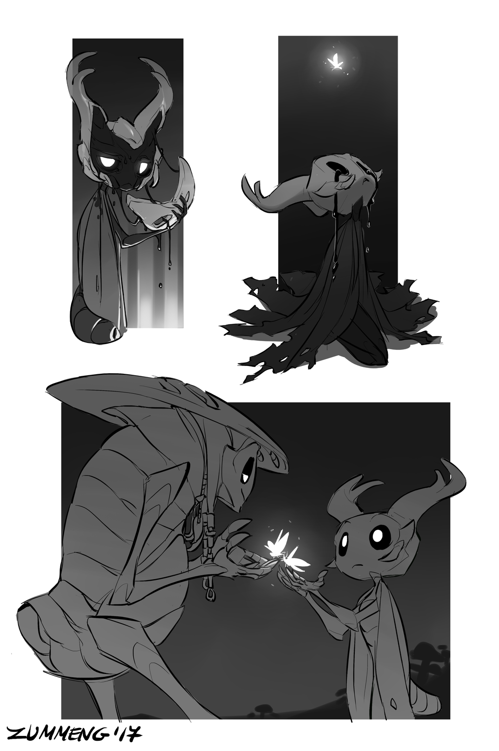 Hollow Knight Sketches #1