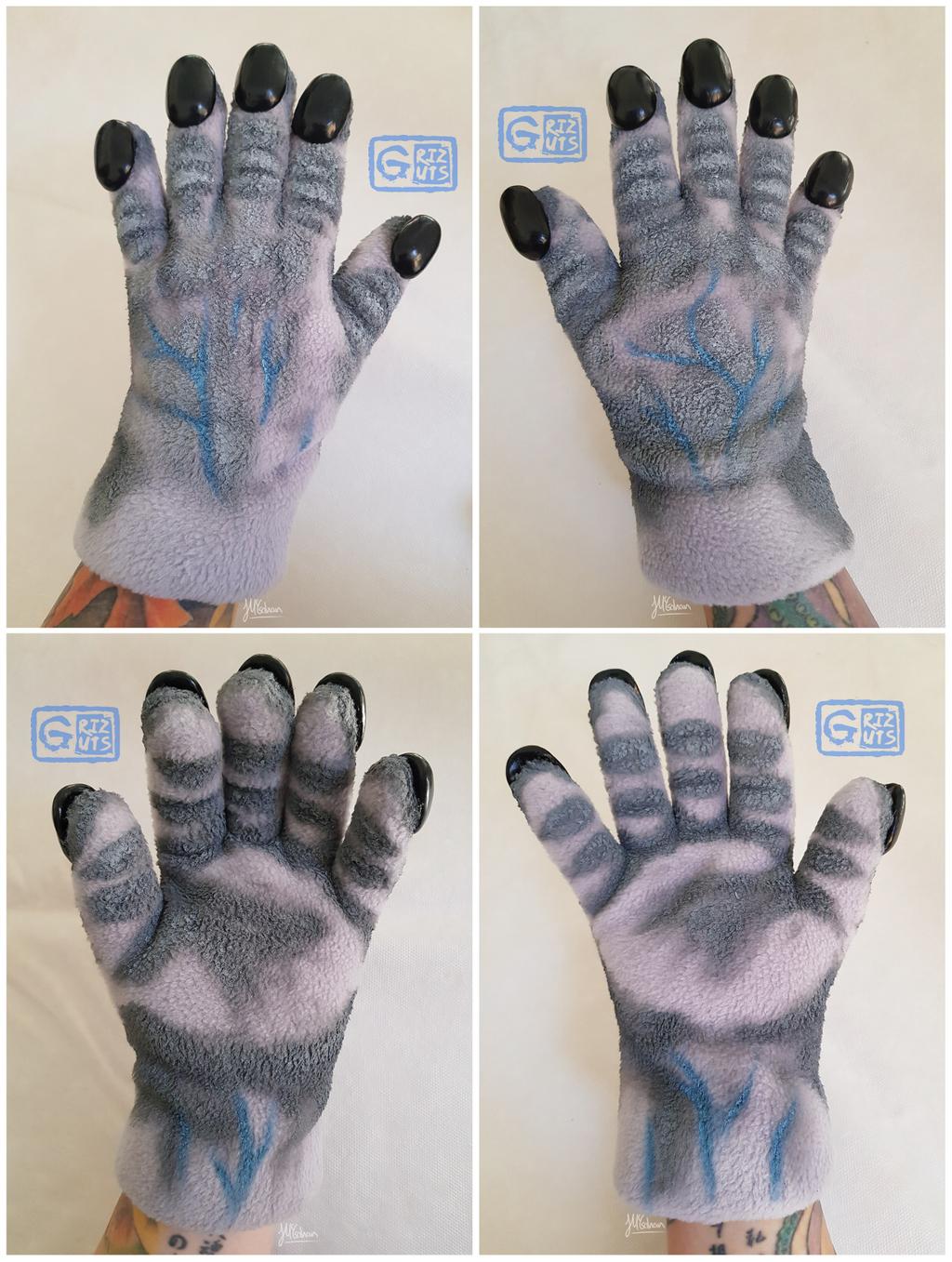 Granny Greymuzzle Hands