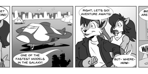 StarTails Comic #1