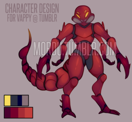 [C] Character Design For Vappy