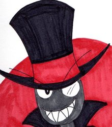 Inktober #16:Black Hat
