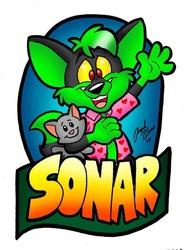 Sonar Badge - By AngelBlancoArts
