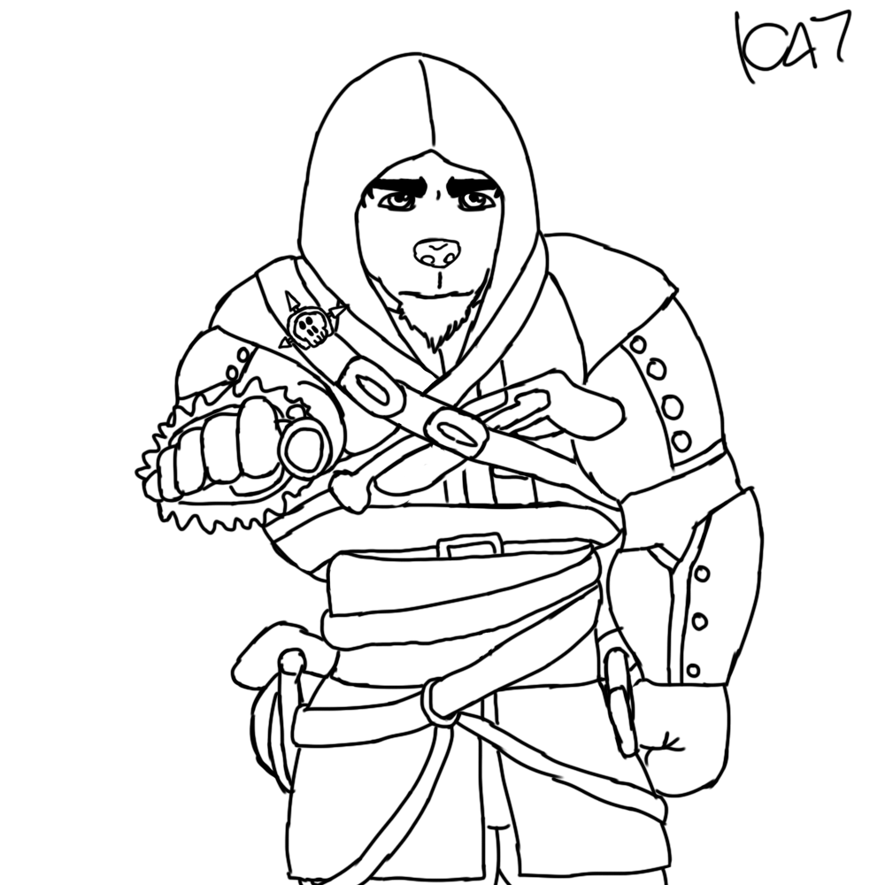 how to draw assassins creed unity