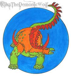 Neon Dinosaurs 2 - Dacentrurus