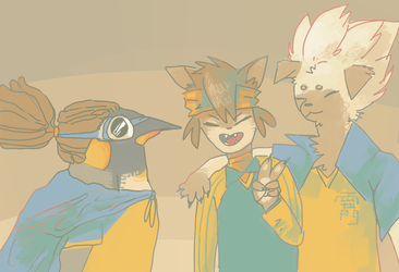 break trio furry version
