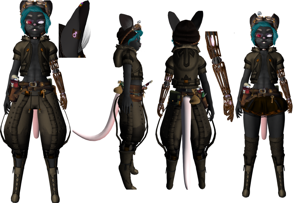 My Mouse Character - Main Outfits