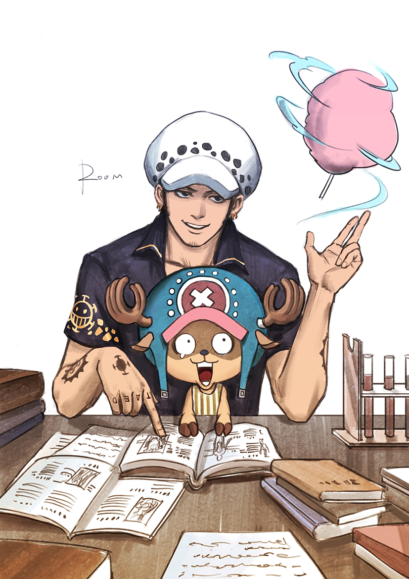 Trafalgar D. Water Law & Tony Tony Copper Cotton Candy #3