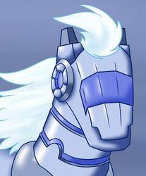 Fabulous robot horse