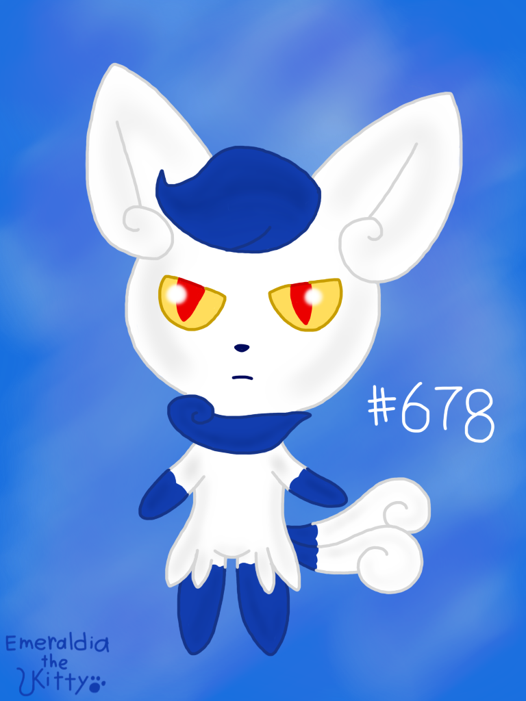 Most recent image: Female Meowstic