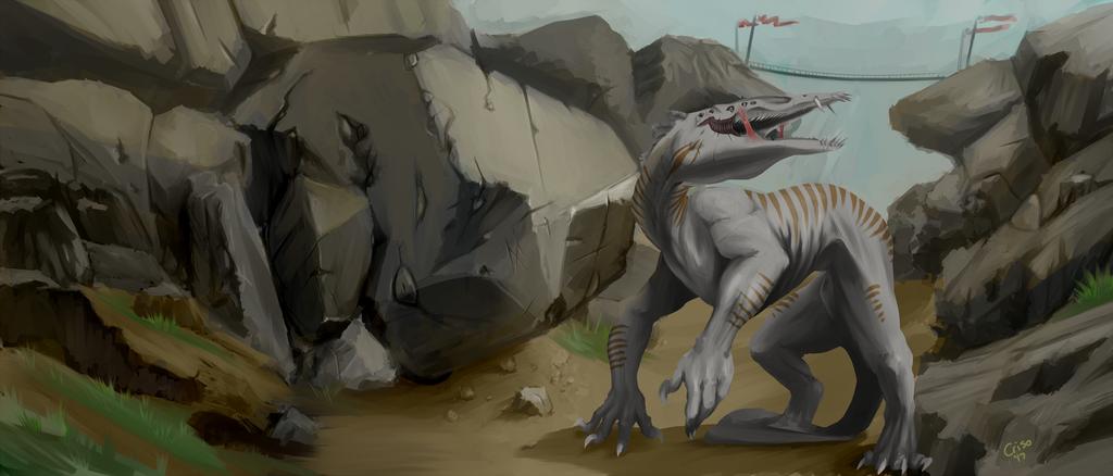 Commission - Aopic - Creature