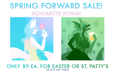 Spring Icon Sale!