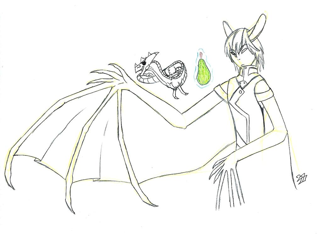So I head you like fruit? [Gift/Sketch]