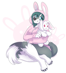 Bunny Hoodie - Commission