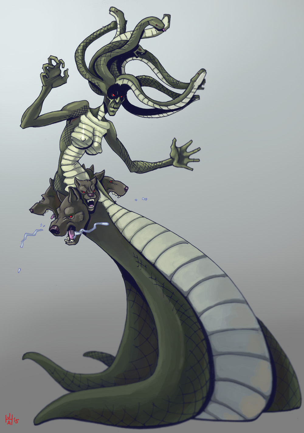 Gorgon of Legend