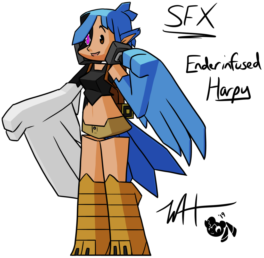 Silver's Enderinfused Harpy