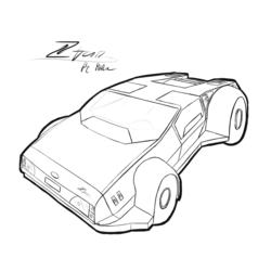 Technical drawing - Ztar