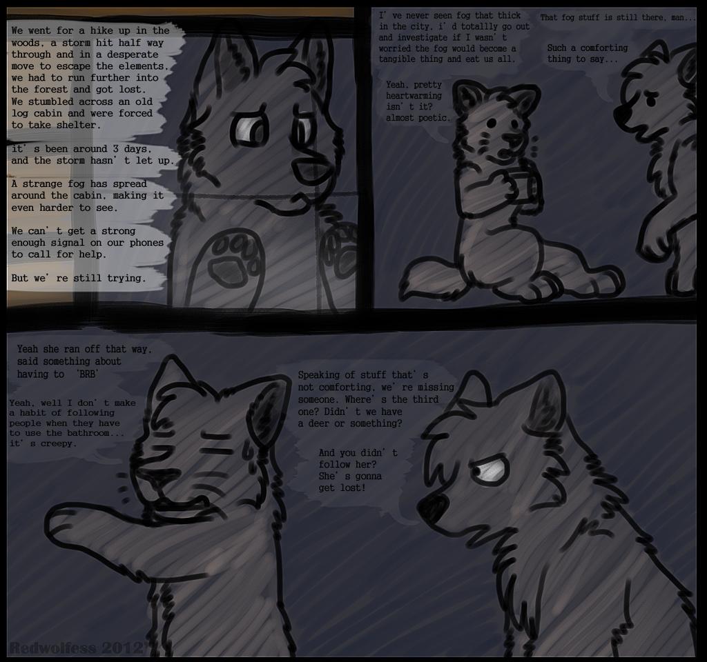 24 hour comic challenge 'page' 1